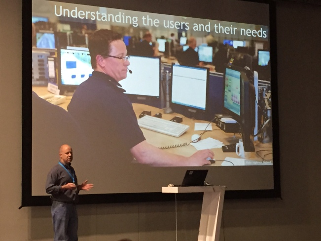 Me presenting at UXify