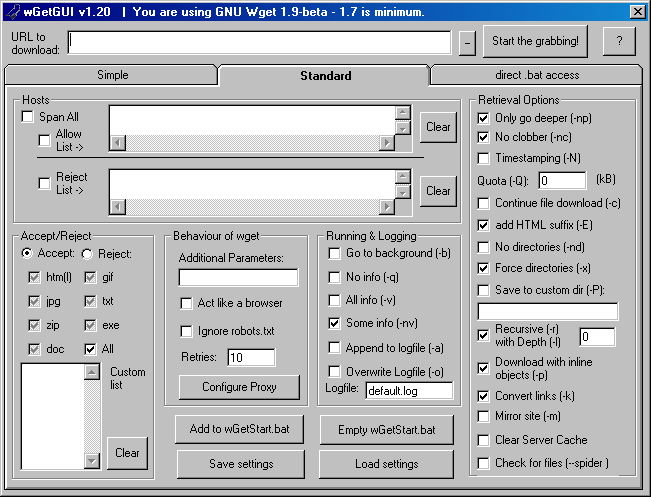 Ugly software interface